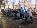 Закладка юбилейной калиновой аллеи на ул. Кирова