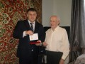 Вручение памятной медали «75 лет битвы за Москву»