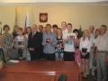 В ОУФСМ по Калининскому району торжественно вручили паспорта