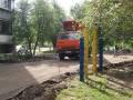 Ремонт двора на Кыштымской, 19а