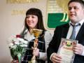 Награждение победителей городской Спартакиады